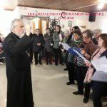 Χριστουγεννιάτικη επίσκεψη και εκδήλωση  στο Εκκλησιαστικό Γηροκομείο Κοζάνης από το Βελβεντό.  (του παπαδάσκαλου Κωνσταντίνου Ι. Κώστα)
