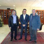 Επίσκεψη της Εθελοντικής Ομάδας ΚΕΛΕΤΡΟΝ  στον Περιφερειάρχη Θ. Καρυπίδη (Βίντεο)