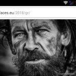 1ο βραβείο, στον διεθνή διαγωνισμό φωτογραφίας Faces 2018, για τον Δημήτρη Βαβλιάρα, από την Αιανή