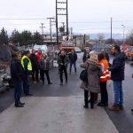 Άσκηση εκκένωσης του κτιρίου στέγασης των υπηρεσιών της ΔΕΔΔΗΕ Α.Ε/Περιοχής Κοζάνης, λόγω εκδήλωσης (εικονικής) πυρκαγιάς, πραγματοποιήθηκε χθες Τρίτη 19/1 (Φωτογραφίες)