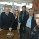 """Η Εκτελεστική Γραμματεία του Ν.Τ. ΑΔΕΔΥ Κοζάνης στην πρώτη συνεδρίασή της για το έτος 2019 (29-1-2019) """"έκοψε"""" την Πρωτοχρονιάτικη πίτα"""