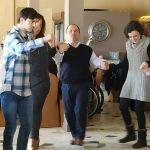 """Η κοπή της βασιλόπιτας του συλλόγου """"Ηλιαχτίδα"""" , πραγματοποιήθηκε το μεσημέρι της Κυριακής στο """"Σιόποτο"""" στην Κοζάνη"""
