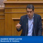 Γιάννης Θεοφύλακτος – Ομιλία για τη Συμφωνία των Πρεσπών:  «Η Ν.Δ. δέχεται το όνομα Βόρεια Μακεδονία! Πείτε την αλήθεια!» (Bίντεο)