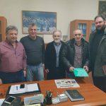 """Συνάντηση του συνδυασμού """"Μετάβαση για το δήμο Κοζάνης"""" με τη διοίκηση του Εργατικού Κέντρου Κοζάνης"""