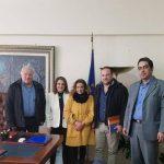 Συνάντηση Υφυπουργού ΥΠΑΑΤ Ολυμπίας Τελιγιορίδου  με Κροκοπαραγωγούς