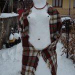 kozan.gr: Χιονάνθρωπος έργο τέχνης στην Εράτυρα του δήμου Βοΐου (Φωτογραφίες)
