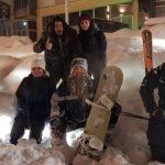 Ski και Snowboard στην κεντρική πλατεία των Γρεβενών  (Bίντεο)