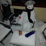 kozan.gr: Νέα Καρδιά Κοζάνης: Έφτιαξαν την «Υπατία», σε μορφή χιονάνθρωπου, να πίνει βότκα (Φωτογραφία)