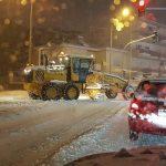 kozan.gr: Στους δρόμους της Κοζάνης τα εκχιονιστικά μηχανήματα (Βίντεο)