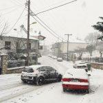 Ώρα 16.00: Η Σιάτιστα μέσα στα χιόνια  (Φωτογραφίες)