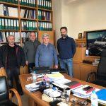 Στους χώρους του ΑΗΣ Αγίου Δημητρίου βρέθηκε το πρωί της Τετάρτης ο Δήμαρχος Κοζάνης Λευτέρης Ιωαννίδης (Φωτογραφίες)