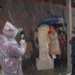 Η Εφορεία Αρχαιοτήτων Κοζάνης ντυμένη στα λευκά καλωσορίζει τους πρώτους τολμηρούς επισκέπτες του 2019 (Φωτογραφίες)