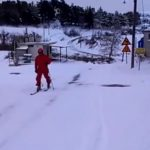 kozan.gr: Στην Κάτω Κώμη Κοζάνης κάποιοι το «έριξαν» στο ορειβατικό σκι (Βίντεο)