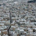 kozan.gr: Λευκή ομορφιά, από το κέντρο της Κοζάνης  (Bίντεο)