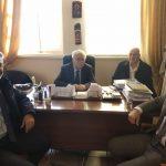 Συνάντηση Δημάρχου Βοΐου, Δημήτρη Λαμπρόπουλου με εκπροσώπους της Εθνικής Τράπεζας για το κλείσιμο του υποκαταστήματος Τσοτυλίου