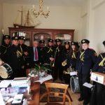 Τα πρωτοχρονιάτικα κάλαντα έπαιξε στο Δήμαρχο Βοΐου, Δ.Λαμπρόπουλο, η Φιλαρμονική του Δήμου Βοΐου