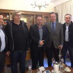Επίσκεψη του Ευρωβουλευτή Γιώργου Κύρτσου  στο Επιμελητήριο Κοζάνης