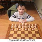 Αυξημένη συμμετοχή στα πρωταθλήματα γρήγορου σκακιού, της Σκακιστικής Ακαδημίας Πτολεμαΐδας