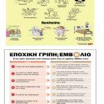 Το Κέντρο Υγείας Κοζάνης, η 1η ΤΟΜΥ και 3η ΤΟΜΥ Κοζάνης για τα αυξημένα κρούσματα γρίπης