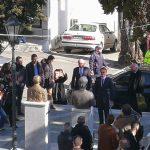 kozan.gr: Έφτασε, πριν από λίγο (ώρα 11:20 π.μ.), στο δημαρχείο Βοΐου, στη Σιάτιστα, ο Πρόεδρος της ΝΔ, Κ. Μητσοτάκης (Βίντεο & Φωτογραφίες)