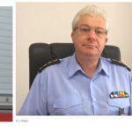 kozan.gr: Νέος διοικητής της Π.Υ. Κοζάνης ο Γ. Ρούτσιας – Νέος διοικητής του παραρτήματος της Πυροσβεστικής Σχολής Πτολεμαΐδας ο Κ. Μαυροματίδης –  Νέος διοικητής ΠΕ.ΠΥ.Δ Δ. Μακεδονίας ο Ανδρέας Παπαζαχαρίας
