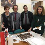 Ο Σύλλογος Διδασκόντων του Βαλταδωρείου Γυμνασίου Κοζάνης έκοψε σήμερα, 4η Φεβρουαρίου, την πρωτοχρονιάτικη πίτα (Φωτογραφίες)