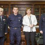 Συγχαρητήρια της Υπουργού Προστασίας του Πολίτη και του Αρχηγού της Ελληνικής Αστυνομίας, στον Ειδικό ΦρουρόΝικόλαο Γκάρα, με καταγωγή από το Τσοτύλι του Δήμου Βοΐου