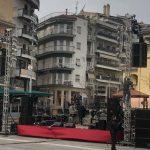 kozan.gr: Ώρα 15:00: Έτοιμη η σκηνή για τη σημερινή συναυλία των Locomondo στην Κοζάνη (Φωτογραφία)