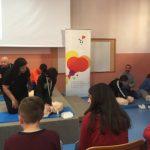 Το 8ο Γυμνάσιο Κοζάνης μαθαίνει να σώζει ζωές (Φωτογραφίες)
