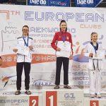 Aργυρό πανευρωπαϊκό μετάλλιο για την αθλήτρια του Α.Σ. Σπάρτακου Κοζάνης