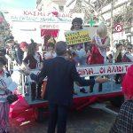 "kozan.gr: Το άρμα του φανού ""Φανού Κασμιρτζίδις"" «Ζιζί Παρτάλου, υποψήφια Δήμαρχος Κοζάνης» – ""Κώστας Κλαπαρχίδας"" τ' όνομα του συζύγου (Βίντεο)"