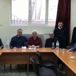 Ενημερωτική συνάντηση του υπ. Δημάρχου Περικλή Αλειφέρη και αντιπροσωπείας υποψηφίων δημοτικών συμβούλων με την Επιτροπή Αγώνα Συνταξιούχων Ν. Κοζάνης