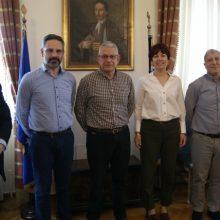 Συνάντηση με το νέο Διευθύνoντα Σύμβουλο Α.Ψαθά και στελέχη της ΕΤΒΑ ΒΙ.ΠΕ. είχε ο Δήμαρχος Κοζάνης Λευτέρης Ιωαννίδης