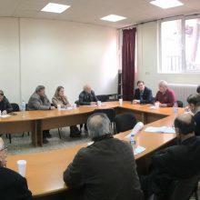 Mε τη Συντονιστική Επιτροπή Αγώνα Συνταξιούχων Κοζάνης συναντήθηκε ο υποψήφιος δήμαρχος Κοζάνης Κώστας Κύργιας (Δελτίο τύπου)