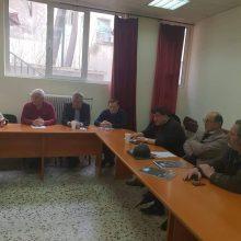 Mε τη Συντονιστική Επιτροπή Αγώνα Συνταξιούχων Κοζάνης συναντήθηκε ο υποψήφιος δήμαρχος Κοζάνης Kυριάκος Μιχαηλίδης (Δελτίο τύπου)