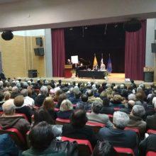 kozan.gr: Εκδήλωση με θέμα «Η συμφωνία των Πρεσπών… Η αποδόμησή της – Οι νομικές αντιφάσεις που οδηγούν στην κατάργησή της», διοργανώθηκε, το βράδυ του Σαββάτου 16/3, στην Φλώρινα (Φωτογραφίες & Βίντεο)