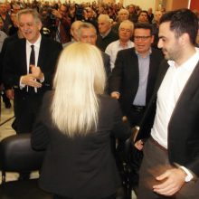 kozan.gr: Στο Εκθεσιακό Κέντρο στα Κοίλα Κοζάνης μίλησε, το απόγευμα της Κυριακής 17/3, η Πρόεδρος του Κινήματος Αλλαγής, Φώφη Γεννηματά – Έκανε λόγο για 3 μεγάλες ζημιές του Τσίπρα που δημιουργήθηκαν με τη Συμφωνία των Πρεσπών» (41 Φωτογραφίες & Βίντεο 13′)