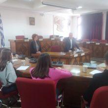 Το Δημαρχείο Εορδαίας επισκέφθηκαν μαθητές του 5ου Γυμνασίου Πτολεμαϊδας στo πλαίσιo του προγράμματος «Ποιότητα ζωής στην Πόλη μας»