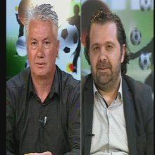 """Τ. Καραθανάσης προπονητής Μακεδονικού Κοζάνης στο """"Σπορ Ραντεβού"""" του Top Channel: """"Το στρατιωτικό γήπεδο είναι ακατάλληλο. Μην κρυβόμαστε πίσω από το δάχτυλο μας"""" – Β. Νάνος προπονητής βόλεϊ: """"Αυτή τη στιγμή τα κορίτσια μας στους Πάνθηρες στο τοπικό γυναικών είναι στη δεύτερη θέση. Πάμε για την άνοδο"""""""