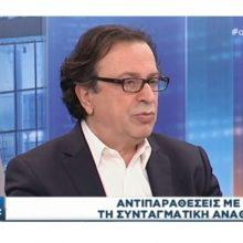 """Θέμης Μουμουλίδης: """"Ως κυβέρνηση κληθήκαμε να απολογηθούμε για παθογένειες των 200 χρόνων του νεοελληνικού κράτους»."""