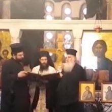 Το μήνυμα του νέου Μητροπολίτη Σισανίου και Σιατίστης Αθανασίου (Βίντεο)