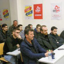 kozan.gr:  Εκδήλωση με θέμα «Οι εξελίξεις στην Ανώτατη Εκπαίδευση και οι θέσεις του ΚΚΕ» διοργάνωσε, το απόγευμα της Πέμπτης 21/3, η Τομεακή Επιτροπή Κοζάνης του ΚΚΕ και το Τομεακό Συμβούλιο Κοζάνης της ΚΝΕ (Φωτογραφίες & Βίντεο)