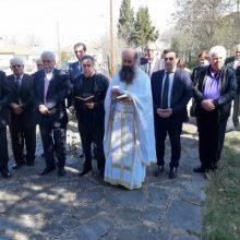 Πραγματοποιήθηκε σήμερα 24/3, στο Αηδονοχώρι Βοΐου,  επιμνημόσυνη  δέηση και κατάθεση  στεφάνων υπέρ των πεσόντων ηρώων από τους Ιταλούς  (Φωτογραφίες)