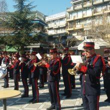 kozan.gr: H τελετή έπαρση Σημαίας, στην κεντρική πλατεία Πτολεμαϊδας, στο πλαίσιο των εκδηλώσεων με αφορμή τη σημερινή 198η Εθνική Επέτειο της 25ης Μαρτίου 1821 (Bίντεο)