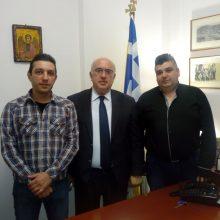 H Ένωση Στρατιωτικών Περιφερειακής Ενότητας Κοζάνης  συναντήθηκε με τον τέως Υπουργό  Μιχάλη Παπαδόπουλο (Δελτίο τύπου)