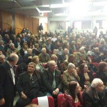 kozan.gr: Οι πρώτες φωτογραφίες από τη σημερινή πρώτη δημόσια εκδήλωση παρουσίασης του συνδυασμού  «Ενωμένη Εορδαία» του Π. Πλακεντά