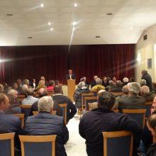 Λαϊκή συνέλευση στη Βασιλειάδα Καστοριάς για θέματα ΤΟΕΒ παρουσία του Περιφερειάρχη Θεόδωρου Καρυπίδη – Η Περιφέρεια Δυτικής Μακεδονίας υλοποιεί ένα ολοκληρωμένο σχέδιο διαχείρισης των υδάτινων στοιχείων, με περιβαλλοντική ευαισθησία, ενισχύοντας την αγροτική παραγωγή (Φωτογραφίες)