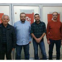 Συνάντηση αντιπροσωπείας της ΕΠ Δυτικής Μακεδονίας του ΚΚΕ με την Ένωση Στρατιωτικών της ΠΕ Κοζάνης την Πέμπτη 28 Μάρτη