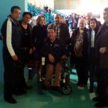"""Με πολυπληθή ομάδα του συνδυασμού «Δημιουργούμε Μαζί!», η επικεφαλής Αθηνά Τερζοπούλου στην """"13η Διεθνή Κολυμβητική Συνάντηση ΑμεΑ"""""""