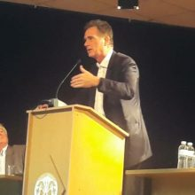 kozan.gr: Πραγματοποιήθηκε το βράδυ του Σαββάτου 6 Απριλίου, στο κέντρο Πολιτισμού Αιανής, η ομιλία του υποψήφιου Ευρωβουλευτή με το Κίνημα Αλλαγής Νίκου Παπανδρέου (Φωτογραφίες & Βίντεο)